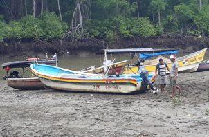 Los afectados exigen más seguridad  en el Puerto de Guararé. Foto/Thays Domínguez