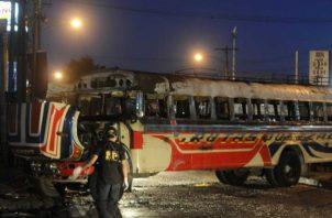 Guatemala ha avanzado en la última década en materia de seguridad, ya que de una tasa de 46 asesinatos por cada 100,000 habitantes la ha reducido a 22. FOTO/EFE