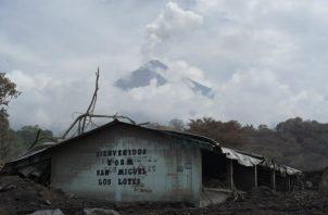 El volcán de Fuego, que el pasado 3 de junio registró una potente erupción que dejó al menos 178 muertos.