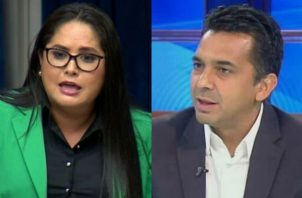 La diputada Zulay Rodríguez y el excandidato presidencial Ricardo Lombana se enfrentaron en Twitter por el tema de Alfredo Castillero Hoyos. Foto: Panamá América.