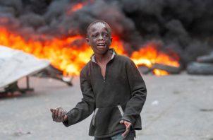 Protestas violentas contra el Gobierno del presidente Jovenel Moise, mientras que la comunidad internacional hizo un llamado al diálogo. FOTO/EFE