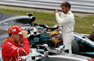 Lewis Hamilton. Foto:AP