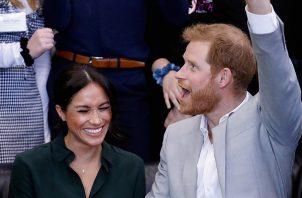 Príncipe Harry y Meghan.