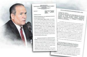Harry Díaz se declaró impedido para conocer las apelaciones presentadas en el caso pinchazos. Foto/Archivos