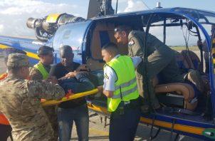 La aeronave tuvo que aterrizar de emergencia. Foto: Mayra Madrid.