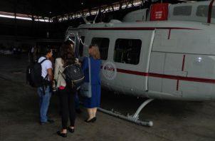 Cabral explicó que el programa de aviación de la Oficina de Asuntos Internacionales de Aplicación de la Ley y Narcóticos (INL) fue la agencia del gobierno de Estados Unidos encargada de la donación.