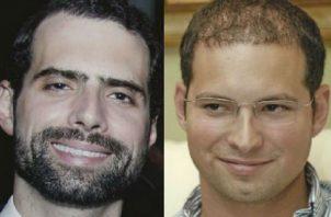 Ricardo y Luis Martinelli Linares. Foto/Epasa