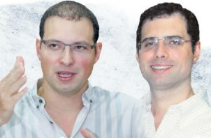 Ricardo Alberto y Luis Enrique Martinelli Linares. Foto/Panamá América