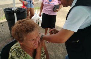 Cifras del Minsa dan cuenta de que, desde el 22 de abril a la fecha, se han aplicado 36,598 dosis de vacunas contra la influenza en la región. Foto/ Thays Domínguez