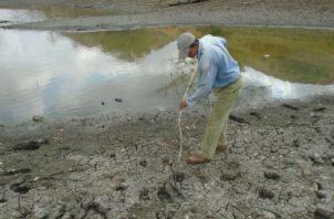 Los productores del lugar, están preocupados ante esta situación, y aseguran que nunca antes habían presenciado un agotamiento de esta represa tan drástica.