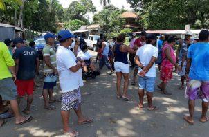 Los lugareños no descartan interponer recursos legales. Foto: Melquíades Vásquez.