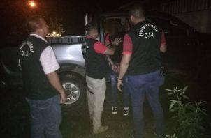 La captura por parte de la Policía Nacional del presunto homicida de la gallera fue acapturado en el sector de Cochea Arriba, provincia de Chiriquí.