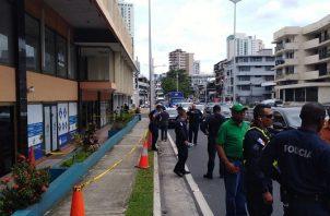 Jorge Nash trató de frustrar un robo en la sede del Partido Panameñista.
