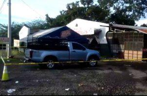 Las investigaciones las adelanta la fiscalía de Homicidios y la Policía Nacional. Foto: José Vásquez.