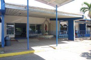 El conato de incendio en el Hospital Regional de Chepo  se registró el lunes en la noche.