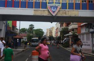 """El actual Hospital del Niño ha sido confirmado como un """"edificio enfermo"""".  Adiel Bonilla"""