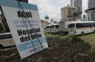 El acto de licitación del nuevo Hospital del Niño se realizará mañana lunes 15 d abril.
