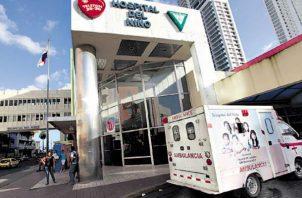La familia del hospital lleva más de una década esperando por una nueva sede. Foto de archivo