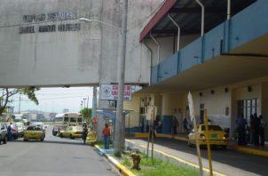 Hospital Manuel Amador Guerrero en la ciudad de Colón. Foto: Diómedes Sánchez.