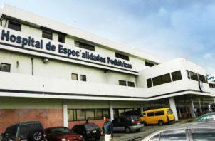 Instalaciones del Hospital de Especialidades Pediátricas. Foto: Epasa