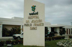 La menor llegó sin signos vitales al hospital Joaquín Pablo Franco de Las Tablas, hacia donde fue traslada. Foto: Thays Domínguez.