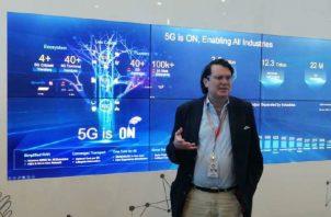 Huawei lleva dos o tres años desarrollando el aspecto comercial de la 5G.