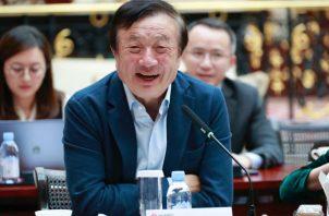 Ren Zhengfei, fundador de la compañía Huawei.
