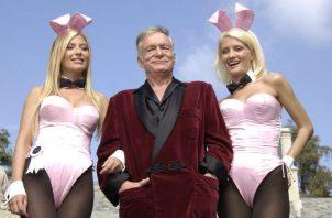 Hugh Hefner, fundador y dueño de Playboy.