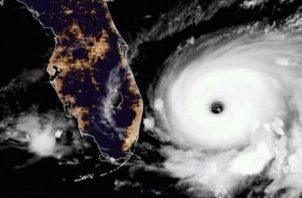 Dorian es hasta ahora el huracán más poderoso que ha tocado tierra, según los expertos. Foto: EFE.