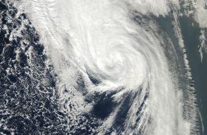 """Erick""  se convirtió en ""huracán categoría 1"". Foto: Archivo/Ilustrativa."