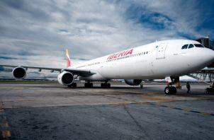 Iberia mantiene sus previsiones de crecimiento para este año.