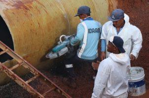 El proceso es complejo y el agua pasa por cuatro potabilizadoras antes de llegar a los puntos más altos. Foto de cortesía