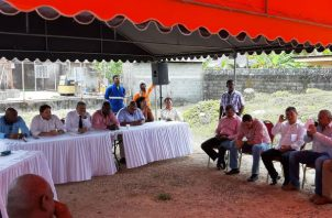 Reunión del Consejo Municipal del distrito de Colón. Foto: Diómedes Sánchez S.