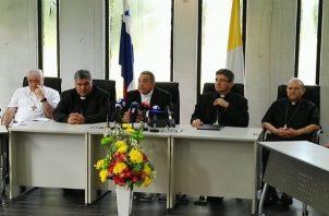 La Iglesia católica separó a tres sacerdotes por escándalos sexuales. Foto: Conferencia Episcopal Panameña.