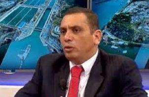 Carlos Reyes, presidente del Sindicato de Trabajadores del Canal.