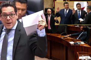 Tres de los cinco diputados independientes apoyaron a Gerardo Solís para contralor.  Ilustración de Panamá América