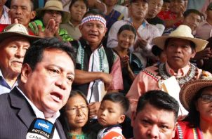 """Indígenas denunciaron un """"bloqueo ilegal"""" por parte del Gobierno, con una serie de """"trabas"""" que les impide avanzar con sus trámites de titulación de tierras colectivas."""