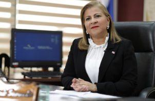 Inés Samudio es la ministra de Vivienda y Ordenamiento Territorial.