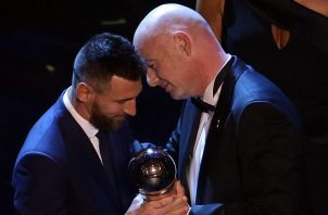 Messi volvió al trono.