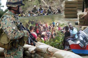Sigue el flujo de migrantes procedentes de Colombia.