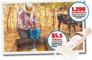 Los productores temen que la sequía se extienda por más tiempo.
