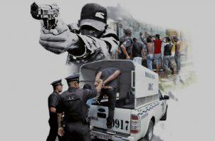 La inseguridad sigue siendo uno de los problemas que más afecta a los panameños.