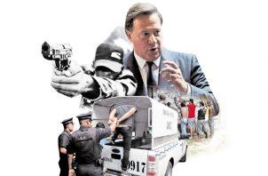 Recientemente el presidente Juan Carlos Varela aseguró que había disminuido la inseguridad en el país.
