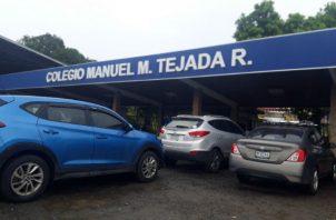Colegio Manuel María Tejada Roca de Las Tablas. Foto: Thays Domínguez.