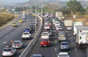 El primer tramo de inversión de carriles es desde el puente de las Américas hasta Arraiján cabecera.