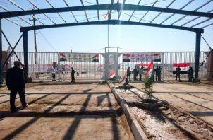 Qaim y Boukamal estuvieron bajo control del Estado Islámico hasta 2017, cuando tropas sirias e iraquíes le arrebataron las poblaciones al grupo. FOTO/AP