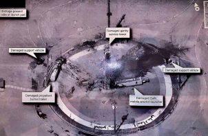 """""""Estados Unidos, no permitirá a Irán usar su programa de lanzamiento espacial como excusa para progresar en sus programas de misiles balísticos. FOTO/AP"""