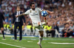 Isco Alarcón había logrado la titularidad en este nuevo Real Madrid. Foto EFE