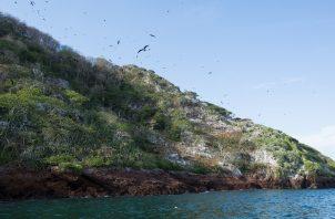 Isla Boná está ubicada en el golfo de Panamá, muy cerca del Canal de Panamá, a 10 millas náuticas de la isla de Taboga.