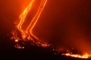 Los tres volcanes con mayor actividad de Guatemala, Fuego, Pacaya y Santiaguito, mantienen un ritmo débil y moderado de explosiones y caída de ceniza.